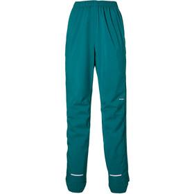 Basil Skane Pantalones Lluvia Mujer, Turquesa/verde